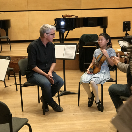 'Leia Zhu is driving the classic world crazy with her violin, and she's only 12 years old.'