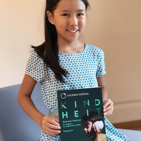 11-year-old Violinist Leia Zhu is the Youngest to Perform at the Prestigious Lucerne Festival 2018