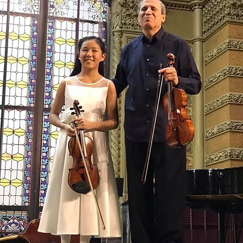 12-year-old Leia Zhu @Golden Violin Festival