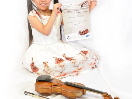 Wonderkid Leia Zhu, EIGHT, wins international contest with amazing violin performance