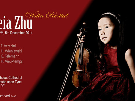 Leia Zhu Christmas Recital at Newcastle St Nicholas Cathedral