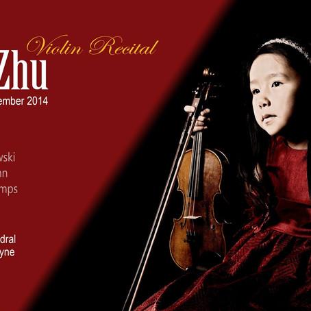 Leia Zhu Christmas Recital at Newcastle St Nicholas Cathedral