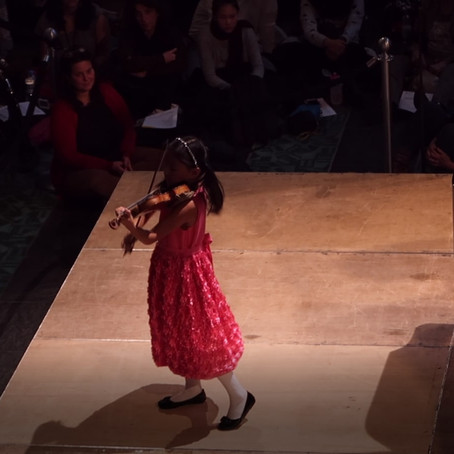 Violinist Leia Zhu Performs in Berlin Philharmonie Lunch Concert