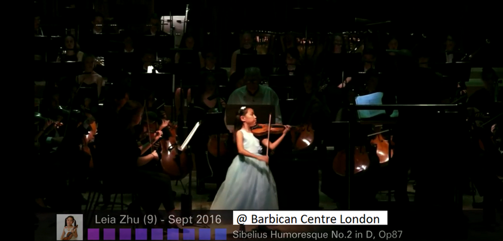 Leia Zhu @ Barbican Centre Sept 2016