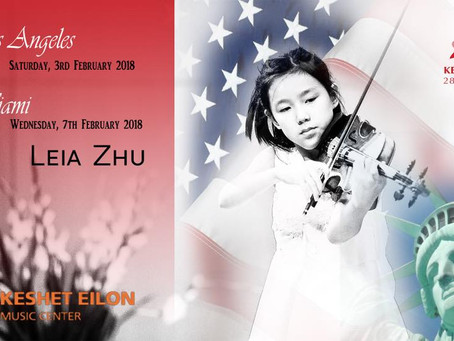 Leia Zhu Performs in Los Angeles and Miami to Raise Funds for Charity