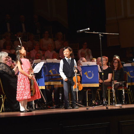 9 Year Old Leia Zhu Returns to North East Last Night of the Proms