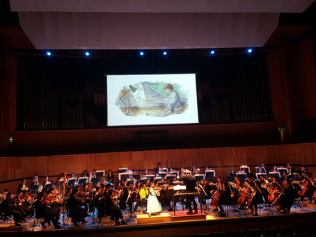 9-year-old Violinist Leia Zhu Performs in London South Bank The Royal Festival Hall