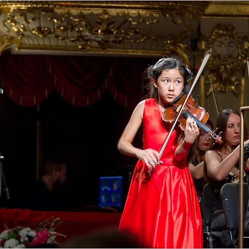 12-year-old Leia Zhu@ Golden Violin Festival Odessa Ukraine
