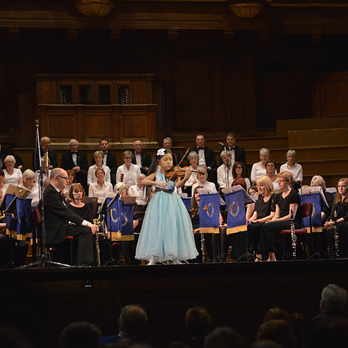 8-year-old Leia Zhu NE Last Night of the Proms