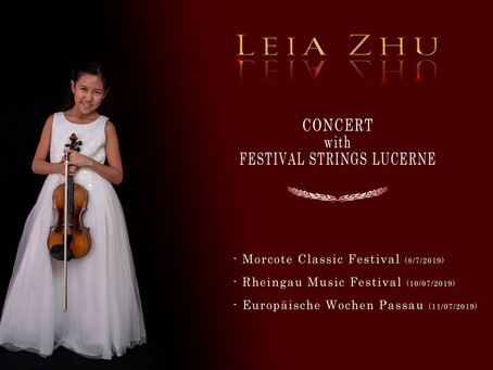 Concert tour with Festival Strings Lucene in Switzerland and Germany starts in a few days time