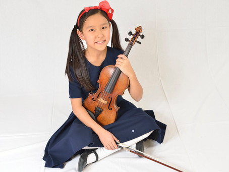 """Wonder Girl Leia Zhu is the princess of the violin. Special concert of the """"Tel Aviv Soloists"""" ensem"""