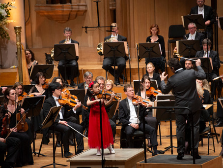9 year old Leia Zhu was Invited to Perform with Belgian National Orchestra