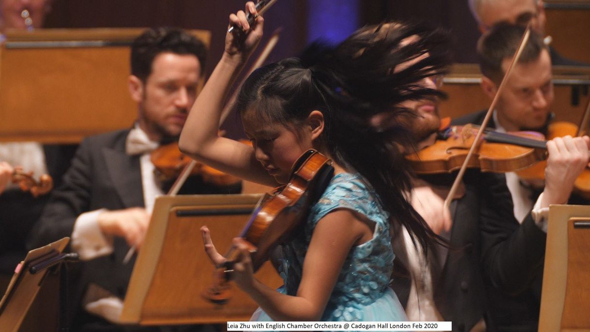 Leia Zhu with English Chamber Orchestra