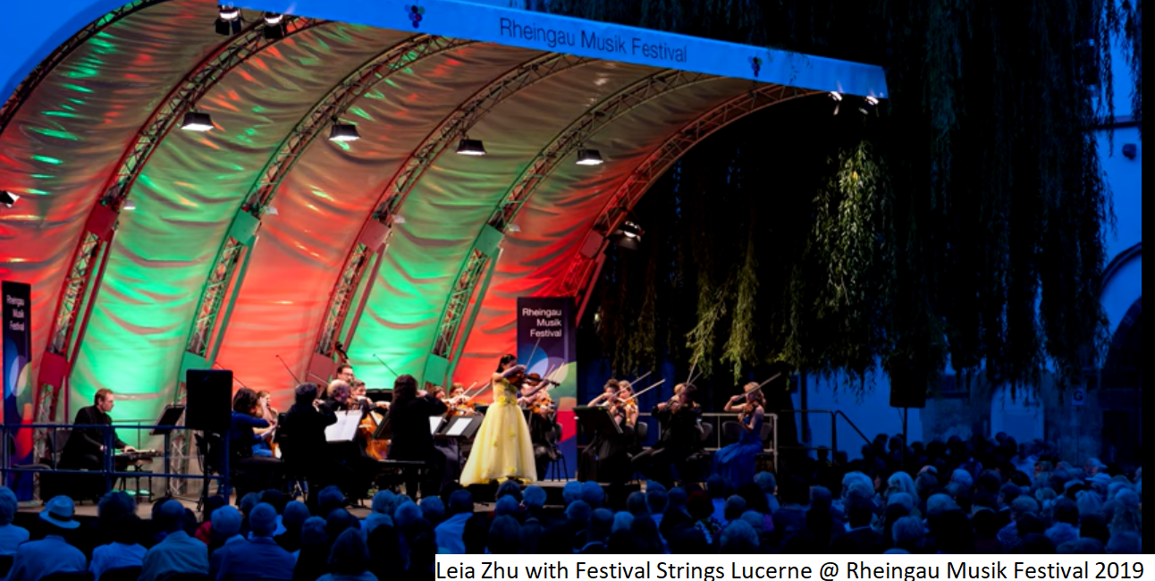 Leia Zhu with Festival Strings Lucerne @
