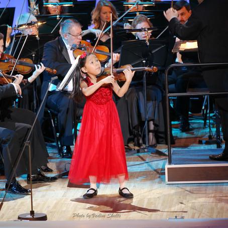 Violinist Leia Zhu Returns Tchaikovsky Concert Hall to Perform