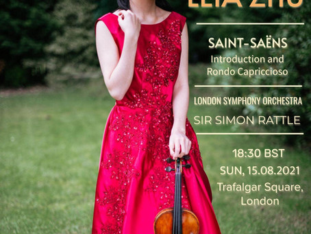 Leia Performs at BMW Classics 2021 with London Symphony Orchestra and Sir Simon Rattle