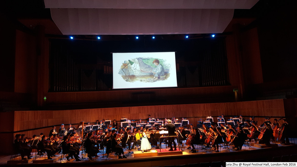 Leia Zhu @ Royal Festival Hall, London
