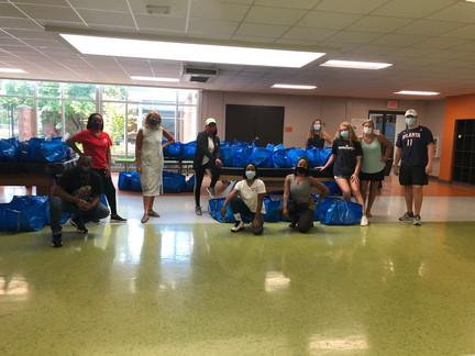 Boys & Girls Club Senior Send Off Bags 2020
