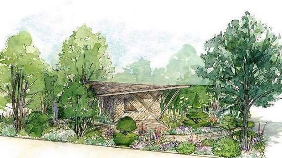 Morgan Stanley Garden RHS Chelsea Flower Show.