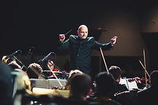 Dirigent als Symbol des Willens