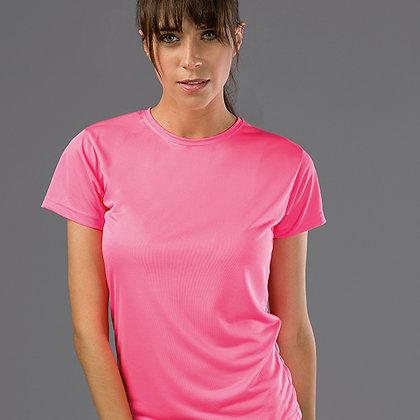 T-Shirt Senhora Técnica 125 g/m²