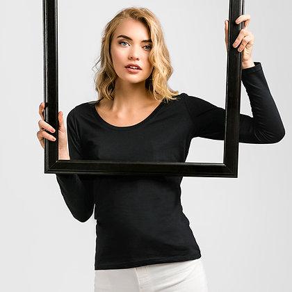 BUCHAREST WOMEN. T-shirt de manga comprida para senhora