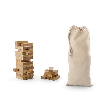 FLIK. Jogo de madeira