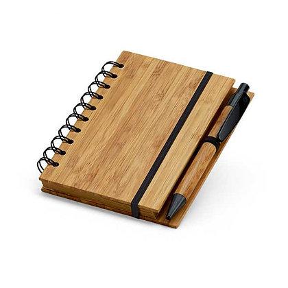 Bloco de Notas em Bambu