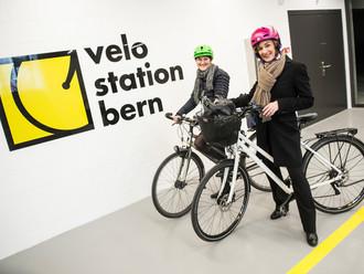 Neue Velostation Schanzenpost   Der Bund, 02.03.2016