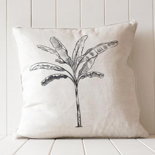 Cushion - Banana Palm black