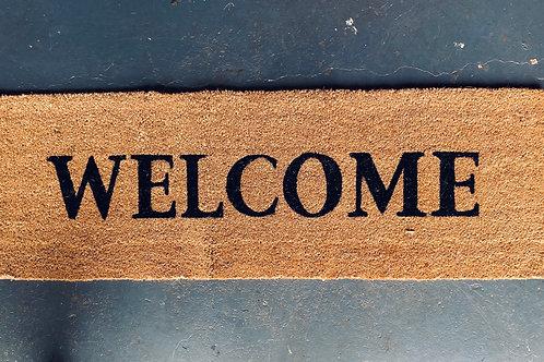 Doormat - Welcome 120 cm Long