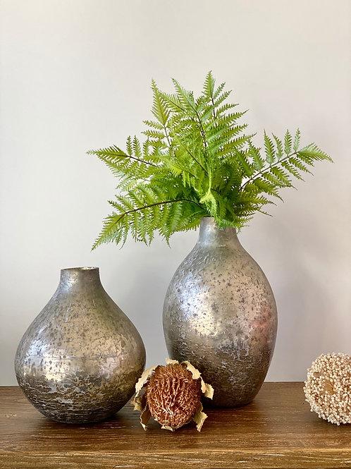 Vase Silver (large 35cmH)