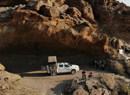 Is this Namibia's best campsite? - Rooiklip Guest Farm