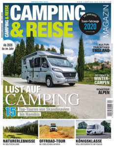Camping und Reise Cover