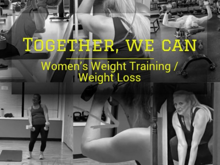 Women Weight Training / Weight Loss Project