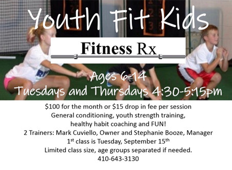 FIT KIDS Programs, Land and Pool.
