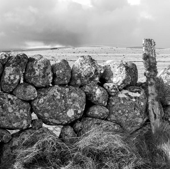 Muret de pierres