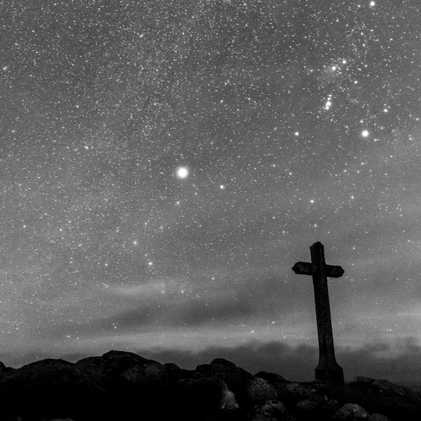 La croix du lac de St Andéol