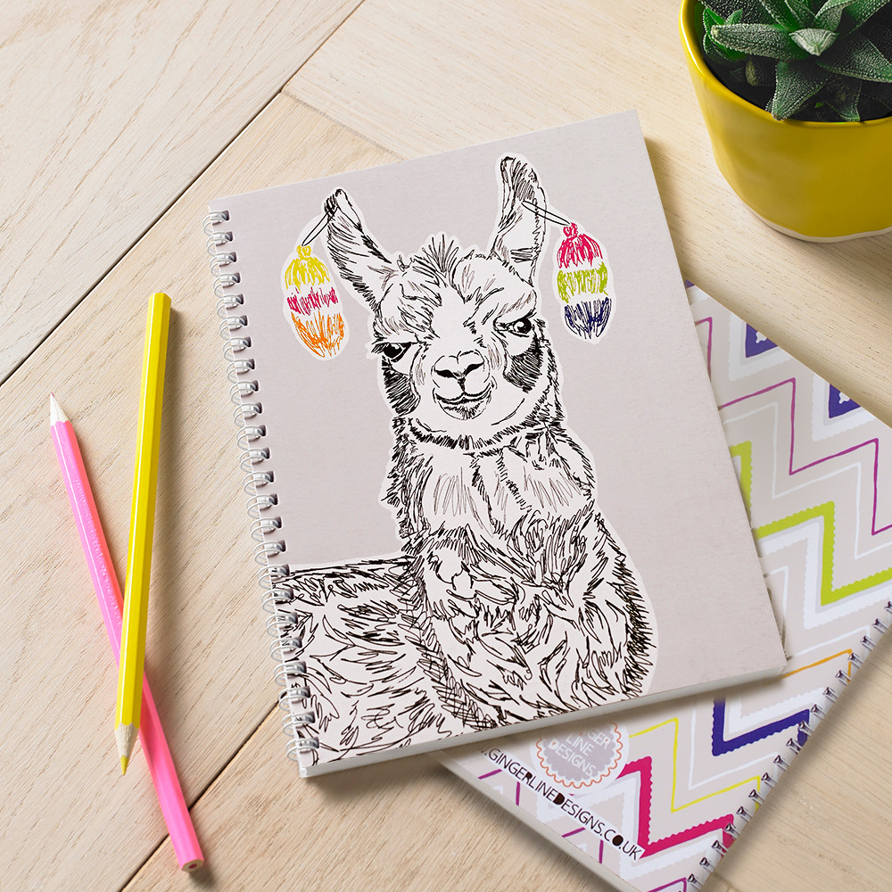 Larry The Llama Notebook