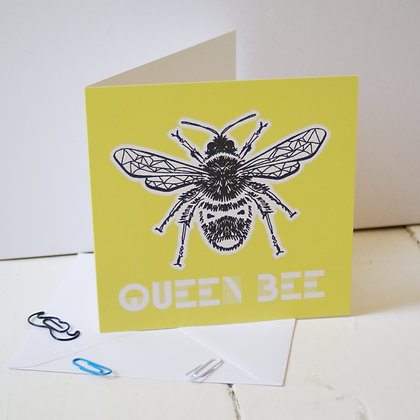 Queen Bee Greetings Cards