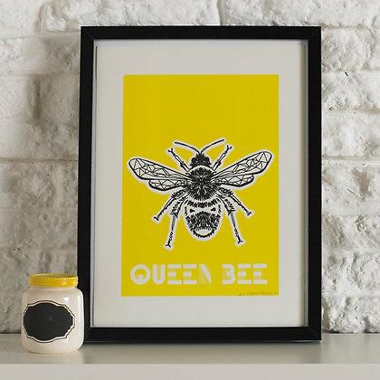 Queen Bee Screen Print
