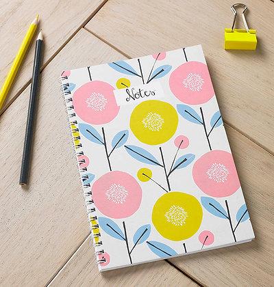 Scandi Floral Notebook