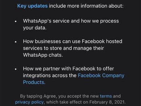 WhatsApp Privacy Policy Update – Stop Using  WhatsApp???