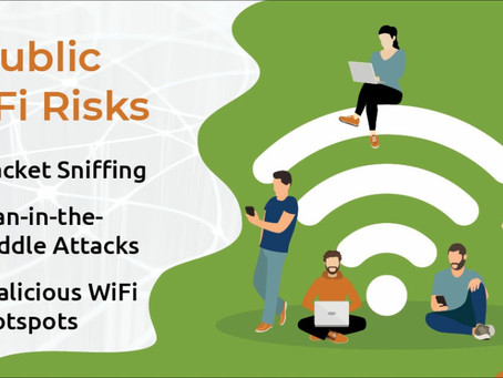 PUBLIC WI-FI, 5 G AND IoT…