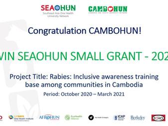 CAMBOHUN has won SEAOHUN SMALL GRANT - 2020