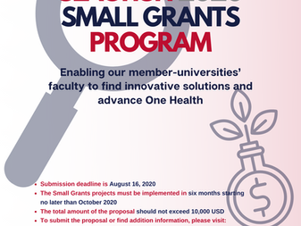 """CALL FOR APPLICATIONS"" Join us for the opportunity to win the SEAOHUN 2020 Small Grants!"