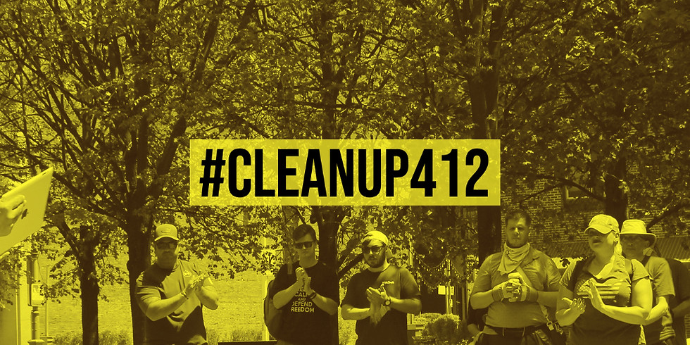 #CLEANUP412: Pittsburgh Cleanup and Voter Registration Event