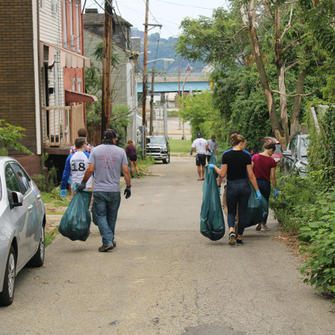 Pittsburgh Cleanup Team Negron