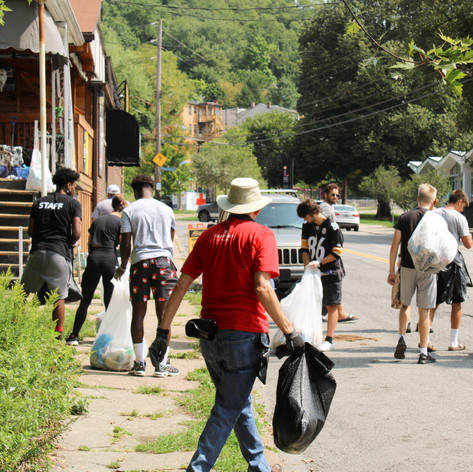 Brighton Heights Cleanup412