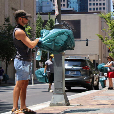 Cultural District Cleanup